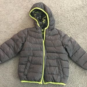 Other - Toddler Boys Down Fleece Jacket